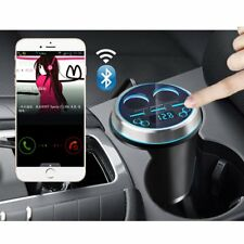 Bluetooth Car Kit Handsfree FM Transmitter Radio MP3 Player 3 Ports USB Charger
