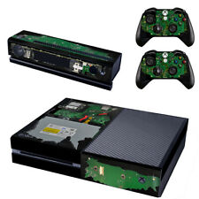 Xbox One Console SKIN + 2 x Controller Stickers Decal FacePlate - Pad Kinect