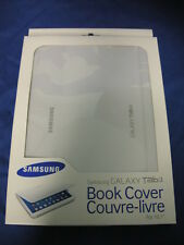 "NEW BOOK COVER / CASE FOR SAMSUNG GALAXY TAB/TABLET 3 10.1"" WHITE EF-BP520BWEGCA"