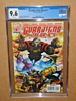 GUARDIANS OF THE GALAXY 1  2008 CGC 9.6 comic movie x-men civil war 2 iron man