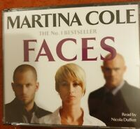 FACES - Martina Cole - AUDIO BOOK (5 x CD) - Read by Nicola Duffett New Sealed