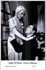 Actor Actress Duo SWIFTSURE 2000 - Postcard SALLY O'NEIL & OWEN MOORE