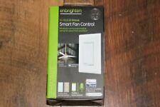 GE 14287 - 4 Z-Wave Plus Wireless Smart Fan Control - White/Light Almond
