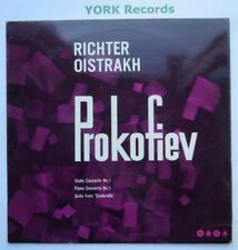 XID 5160 - PROKOFIEV - Violin & Piano Concertos RICHTER OISTRAKH - Ex LP Record
