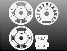 1972-1973 Ford Ranchero Torino Dash Cluster White Face Gauges 72-73