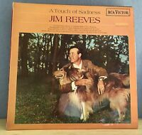 JIM REEVES A Touch Of Sadness 1968 UK vinyl LP   Excellent Condition