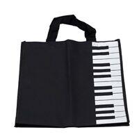 Piano Keys Music Handbag Tote Shopping Bag Gift P1C9