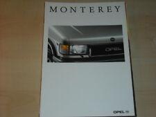 31842) Opel Monterey Prospekt 1992