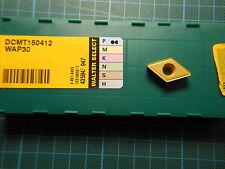 10 x Walter DCMT 150412; WAP30 (WTN43); NEU & OVP; NEW