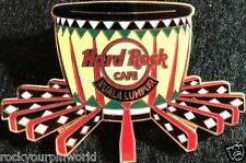 Hard Rock Cafe KUALA LUMPUR 2007 WORLD INSTRUMENTS PIN Rabana Ubi (Drum) #41282