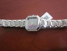 Ladies Pulsar Watch PEF747 Diamond Bezel-SS case/bracelet-Mother of Pearl Dial