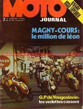 MOTO JOURNAL   74 OSSA 250 Explorer , Brian Kenny MONARK GUZZI V7 Sport 1972