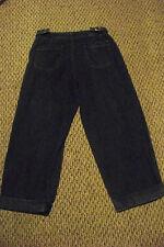 womens vTg levis dark wash high waist denim jeans capris size 8 mis 30