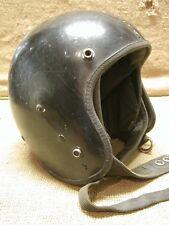 RARE Vintage Motorcycle Helmet Antique Cycle Bike Helmets Gear 6426