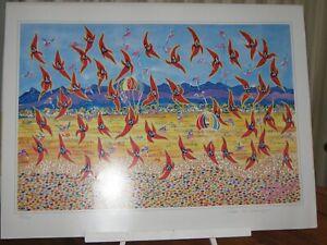 Australian Art Print. Peter Stevenson. New. Unframed.