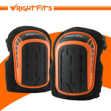 WrightFits Pro Heavy Duty Gel knee Pads - Safety DIY Work Knee Protection Guards