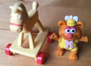 1986 McDonald's Muppet Babies- Fozzy Toy