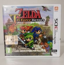 The Legend of Zelda Triforce Tri Force Heroes  3DS/2DS SIGILLATO ITALIANO NUOVO