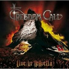 "Freedom Call ""Live in hellvetia"" 2 CD NUOVO"