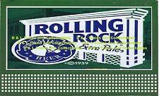 Billboard for Lionel Holder Rolling Rock Beer