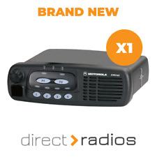 Nuevo Motorola GM340 VHF (136-174 MHz) móvil/de vehículo Radio De Dos Vías X 1