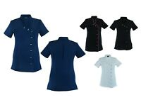 Beauty Tunic Hairdresser SPA Nail Salon Therapist Massaging Tunic Uniform Cloths