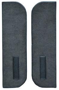 1981-1986 Chevrolet K5 Blazer Cutpile Carpet Door Panels on Cardboard w Vents