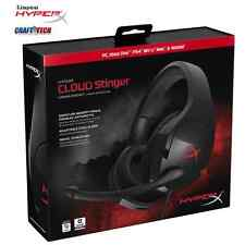 Hyper X Cloud Stinger Gaming Headset for PC, Xbox One, PS4, Wii U HX-HSCS-BK New