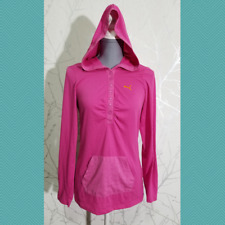 Puma Women's Pink Popover Hooded Top | Size M | Lightweight