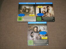 Der Herr der Ringe Trilogie - 3 Steelbooks Blu-Ray -Limited Editions -Neu & OOP