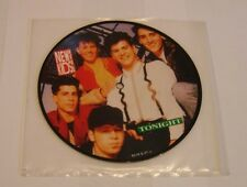 """New Kids On The Block Tonight 7"""" Single Picture Disc - VVG"""