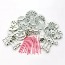 Lots 47Pcs Cake Sugar Candy Decor Mould Fondant Icing Plunger Pastry Mold Cutter