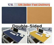 40cm x80cm PU Leather Computer Desk Laptop Mat Waterproof Office Home Dual-Sided
