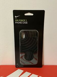 NIKE AIR FORCE 1 PHONE CASE  FITS IPHONE X AND XS BLACK