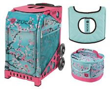 Zuca Sport Bag - Hanami with GIFT Lunchbox and Seat Cover (Pink Frame)
