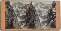 Porte Da Venasque Luchon Pyrenees Foto Jean Andrieu Stereo Vintage Albumina