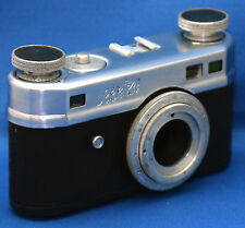 CANDID Camera Perfex 102 one-o-two Vintage 35mm Body Rangefinder Film USA AS IS