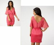 Lipsy V-Neck Polyester Mini Dresses for Women