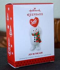 Hallmark Joy In The Air Snowman Ornament 2013 – Limited Edition New!
