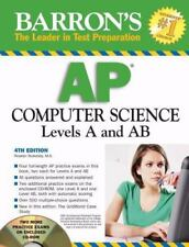 Barron's AP Computer Science with CD-ROM, Roselyn Teukolsky, Good Book
