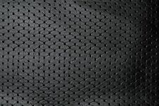 Diamond Textured Black Marine Auto Home Faux Leather Vinyl Pleather Leatherette