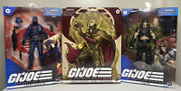 GI Joe Classified Series Lot Supreme Cobra Commander Snake Cobra Trooper Zartan