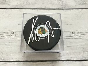 Michal Kempny Signed Autographed Chicago Blackhawks Hockey Puck a
