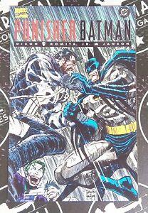 Punisher / Batman 1994 Marvel DC Comics Crossover Romita Jr Dixon Joker