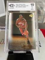 2003 Lebron James Upper Deck Rookie BCCG 10! #24