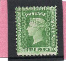Australia NSW 1902 Vic. 3d yellow-green sg 211e HH.Mint