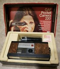 Vintage GAF Pocket Camera 220 With Box,Magicube With Extender
