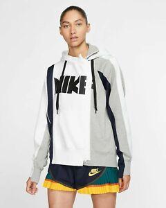 Nike Nikelab x SACAI Double Zip Hoodie Hooded Jacket CD6303-711 Size Small