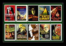 Universal Horror - Frankenstein Dracula Etc Poster Postcard Set # 1
