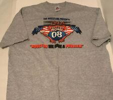 TNA 2008 Victory Road T-Shirt XL Wrestling WWE WCW WWF NWOT